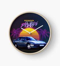 Honda Prelude Retrowave Clock