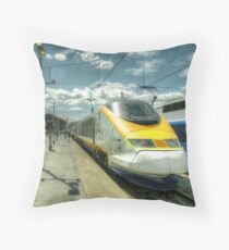 Marseilles Eurostar  Throw Pillow