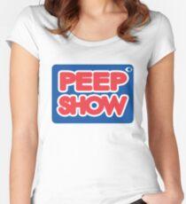 Peep Show Megabloks Women's Fitted Scoop T-Shirt