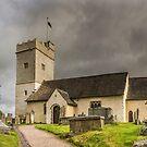 St Sannans Church at Bedwellty by Steve Purnell