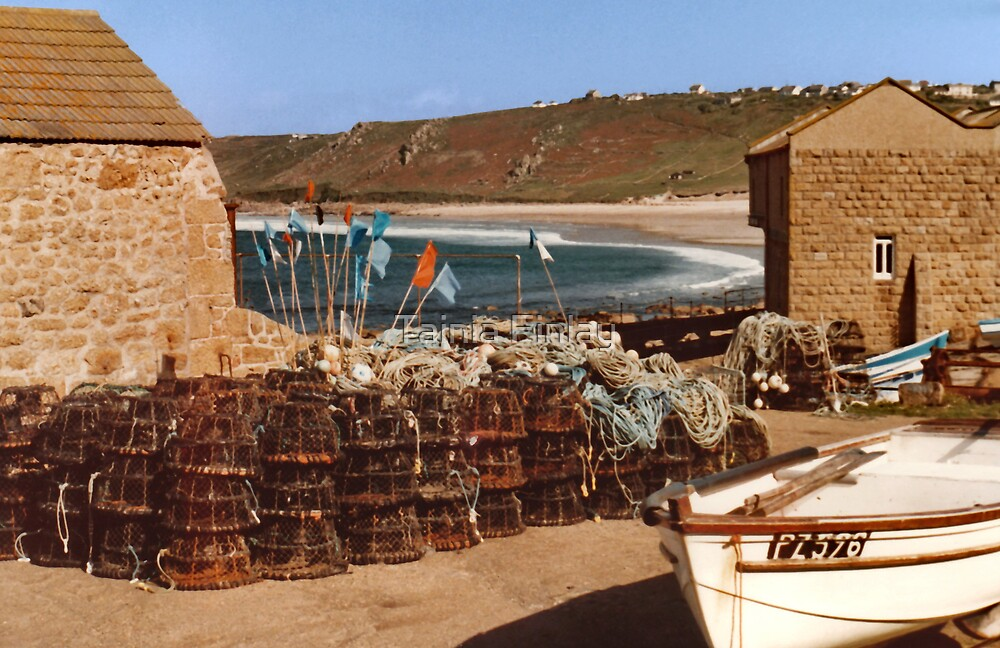 Lobster Pots by Tainia Finlay