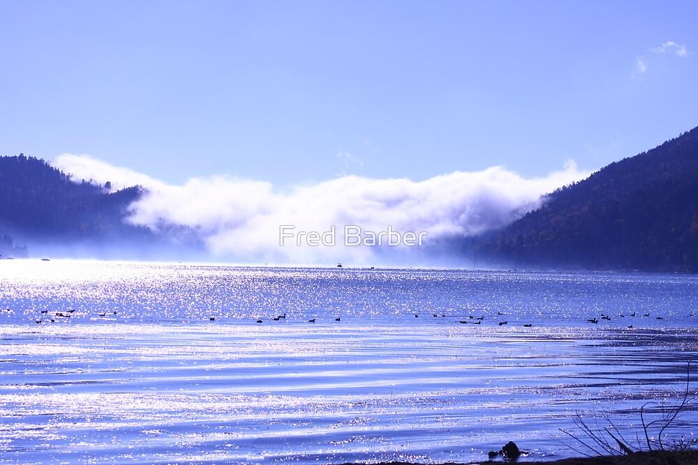 Big Bear Lake by Fred Barber