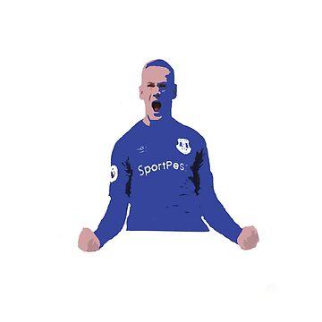 Wayne Rooney Everton Celebration by ajrhode1