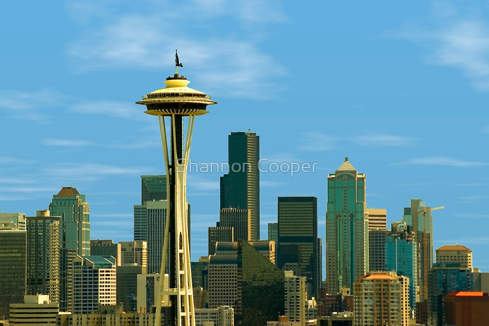 Seattle Space Needle by Shannon Beauford