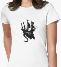 Jolly Swan Roger Women's Fitted T-Shirt