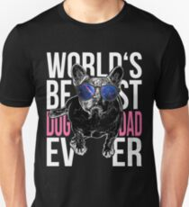 Pug Dog Lover > World's Best Dog Dad Ever > Dog Fashion T-Shirt