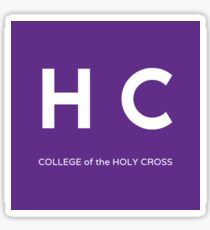 Square College of the Holy Cross Sticker
