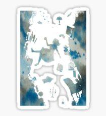 Alice in the Rabbit Hole Sticker