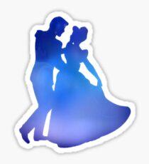 Cinderella and Prince Charming Sticker