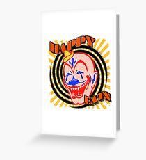 Vampire Clown... Very Hungry. Greeting Card