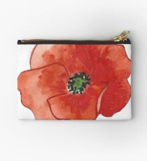 Poppy Flower Studio Pouch