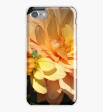 SUNLIT DAHLIA WITH BABY BUD iPhone Case/Skin