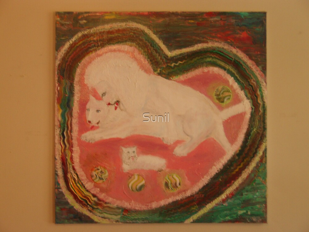 Love Time -The King of Kings: White Lions  by Sunil