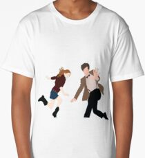 Amy and the her Doctor Long T-Shirt