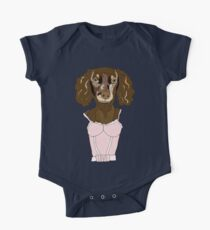 Dachshund in Dress Kids Clothes