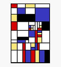 Mondrian's cat Photographic Print