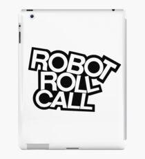 ROBOT ROLL CALL! iPad Case/Skin