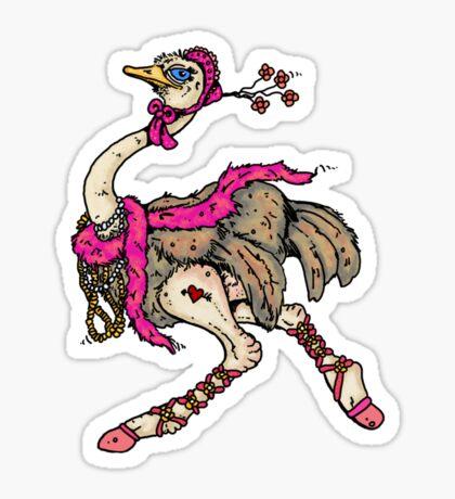 ostrich Sticker