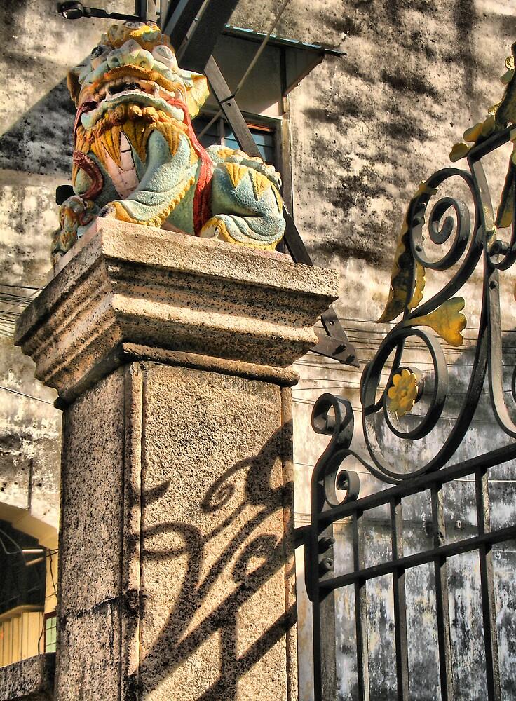 Guardian of Bishop Street by NawfalNur