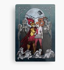 The Angels take the Ponds Metal Print