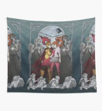 The Angels take the Ponds Wall Tapestry