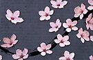 Triangulated Cherry Blossoms by Barbora  Urbankova