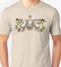 Nudist Figure Drawing Unisex T-Shirt