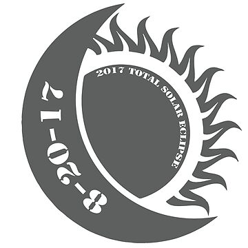 Commemorative Solar Eclipse Merchandise by Designr