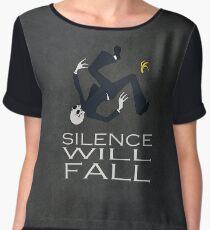 Silence Will Fall Women's Chiffon Top