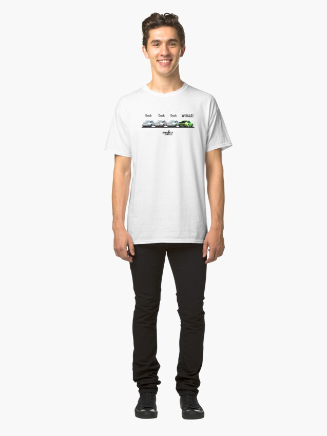 Alternate view of Duck Duck Whale - Porsche 911 Aircooled Inspired Classic T-Shirt