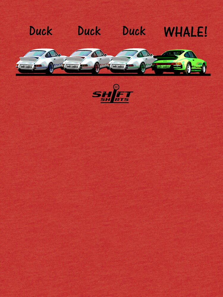 Duck Duck Whale - Porsche 911 Aircooled Inspired by ShiftShirts
