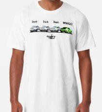 Duck Duck Whale - Porsche 911 Aircooled Inspired Long T-Shirt