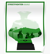 The Street Fighter: Guile Poster