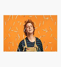 Cigarette Rain Photographic Print