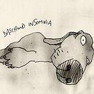 Daschund insomnia by Matt Mawson