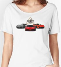 The Trinity - McLaren P1 LaFerrari Porsche 918 Inspired  Women's Relaxed Fit T-Shirt