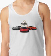 The Trinity - McLaren P1 LaFerrari Porsche 918 Inspired  Tank Top
