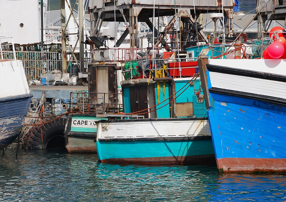 Fishing Boats, Cape Town by Kate Powick