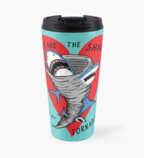 Shark To My Tornado Travel Mug