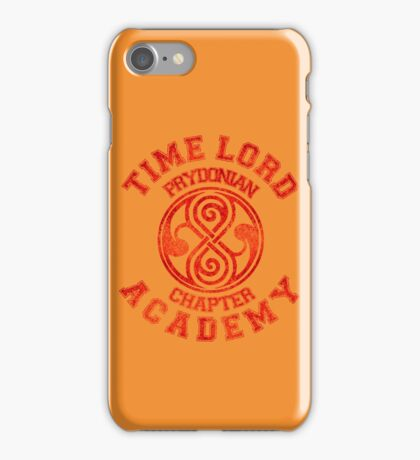 Time Lord Academy iPhone Case/Skin