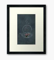 Cherry and Firefly Tea Framed Print