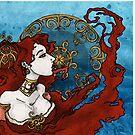 Melisandre of Asshai by Barbora  Urbankova