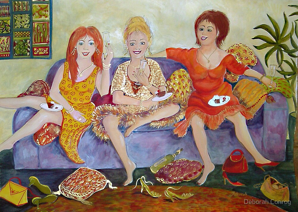 Having a Giggle by Deborah Conroy
