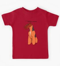 Anatomy of an Airedale Terrier Kids Clothes