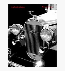 1932 Buick Saloon Photographic Print