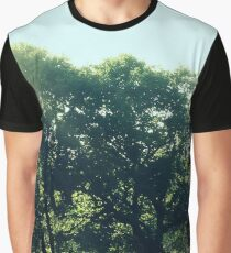 Landscape field with trees Graphic T-Shirt