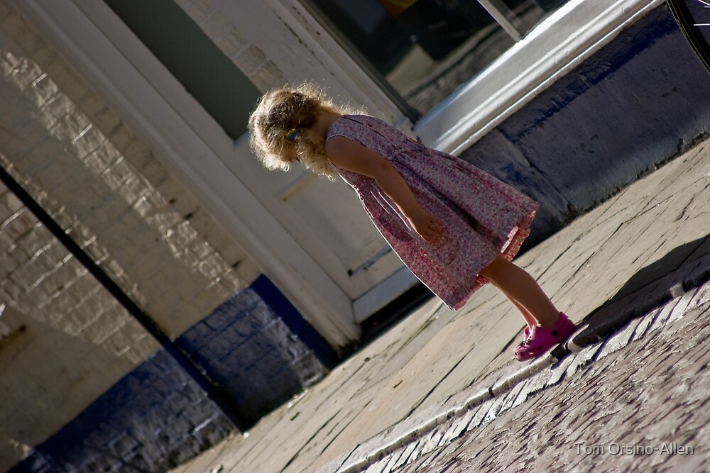 Pink Shoes by Tom Allen