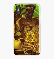 Black Egyptian princess iPhone Case