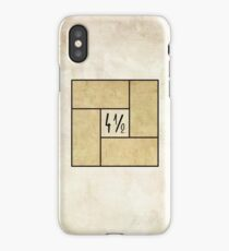 Four and a half Tatami iPhone Case/Skin