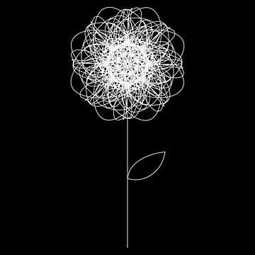 Scribble Flower by annabai